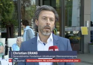 Christian ERANG am RTL Interview